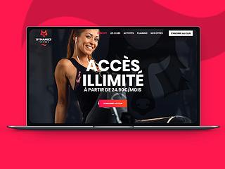 Dynamics Fitness - Le site